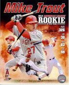 Mike Trout 2012 American League R.O.Y LIMITED STOCK Anaheim Angels 8X10 Photo