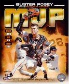 Buster Posey 2012 National League MVP San Francisco Giants SATIN 8X10 Photo