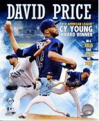 David Price 2012 AL CY Young Award Winner LIMITED STOCK Tampa Bay Devil Rays 8X10 Photo