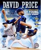 David Price 2012 AL CY Young Award Winner Tampa Bay Devil Rays SATIN 8X10 Photo