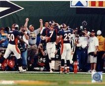 John Elway, Davis, Griffith LIMITED STOCK Denver Broncos 8X10 Photo