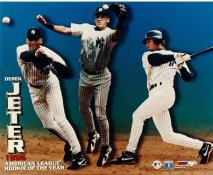 Derek Jeter LIMITED STOCK  1996 American League R.O.Y. New York Yankees 8X10 Photo