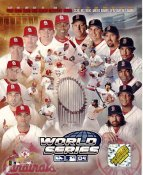 Curt Schilling, Keith Foulke, Jason Varitek, Manny Ramirez, David Ortiz, Pedro Martinez, Johnny Damon WS 2004 LIMITED STOCK Boston Red Sox 8x10 Photo