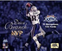 Deion Branch LIMITED STOCK New England Patriots 8X10 Photo
