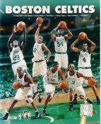 Tony Delk, Eric Williams, Antoine Walker, Paul Pierce, Rodney Rogers, Kenny Anderson, Tony Battle LIMITED STOCK Boston Celtics 8X10 Photo
