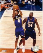 Kobe Bryant and Shaq O'Neal LIMITED STOCK LA Lakers 8x10 Photo