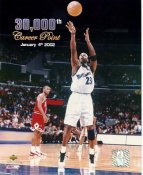 Michael Jordan 30,000th Career Point LIMITED STOCK Wizards 8X10 Photo