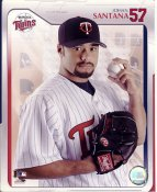 Johan Santana 2005 Studio Minnesota Twins LIMITED STOCK 8X10 Photo