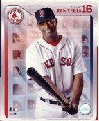 Edgar Renteria LIMITED STOCK Boston Red Sox 8X10 Photo