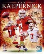 Colin Kaepernick San Francisco 49ers SATIN 8X10 Photo