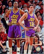 John Stockton & Karl Malone Utah Jazz SATIN 8X10 Photo LIMITED STOCK