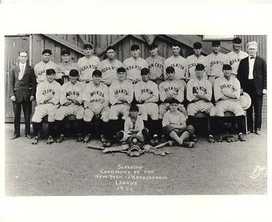 Scranton Champions Of The New York - Pennsylvania League 1926 LIMITED STOCK American Minor League Vintage Baseball Team Photo 8X10 Photo