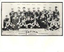 Hub Perdue, Lefty Tyler, Dick Rudolph, Paul Strand, Bill Rariden, Tex McDonald LIMITED STOCK 1913 Boston Braves Vintage Baseball Team Photo 8X10 Photo