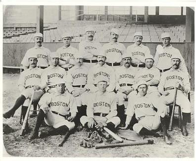 Boston Braves LIMITED STOCK Vintage Baseball Team Photo 8X10 Photo