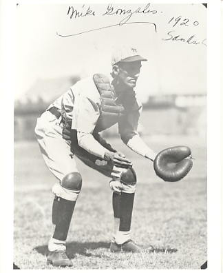Mike Gonzales LIMITED STOCK 1920 New York Giants Vintage Baseball Player 8X10 Photo