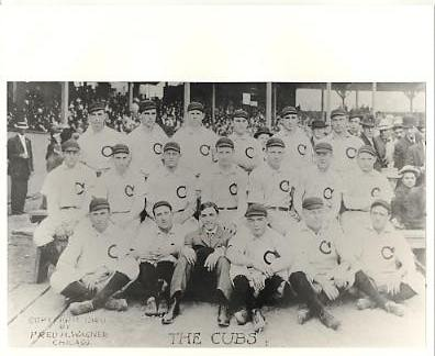 Chicago Cubs 1906 LIMITED STOCK Vintage Baseball Team Photo 8X10 Photo
