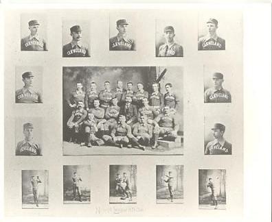 Cleveland Indians LIMITED STOCK Vintage Baseball Team Photo 8X10 Photo