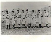 Josh DeVore, Larry Doyle, Fred Snodgrass, Red Murray, Fred Merkle LIMITED STOCK New York Giants Vintage Baseball Team Photo 8X10 Photo