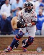 Carlos Santana Cleveland Indians 8X10 Photo