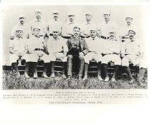 Billy Montjoy, John Corkhill, Gus Shalliz, John McPhee, John Reilly LIMITED STOCK 1885 Cincinnati Vintage Baseball Team Photo 8X10 Photo