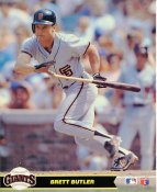 Brett Butler San Francisco Giants LIMITED STOCK Glossy Card Stock 8X10 Photo