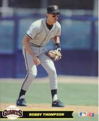 Robby Thompson San Francisco Giants LIMITED STOCK Glossy Card Stock 8X10 Photo