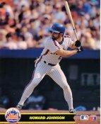 Howard Johnson New York Mets LIMITED STOCK Glossy Card Stock 8X10 Photo