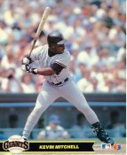 Kevin Mitchell San Francisco Giants LIMITED STOCK Glossy Card Stock 8X10 Photo