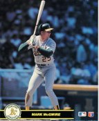 Mark McGwire Oakland Athletics LIMITED STOCK Glossy Card Stock 8X10 Photo