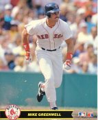 Mike Greenwell Boston Red Sox LIMITED STOCK Glossy Card Stock 8X10 Photo