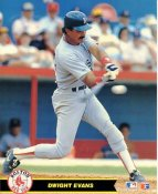 Dwight Evans Boston Red Sox LIMITED STOCK Glossy Card Stock 8X10 Photo