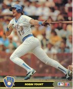 Robin Yount Milwaukee Brewers LIMITED STOCK Glossy Card Stock 8X10 Photo