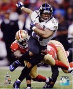Ray Rice Super Bowl 47 Baltimore Ravens SATIN 8X10 Photo