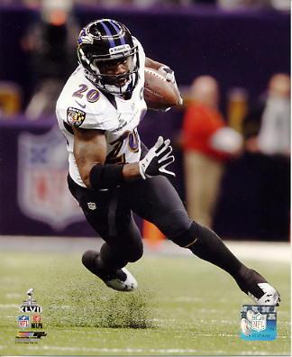 Ed Reed Super Bowl 47 Interception Baltimore Ravens LIMITED STOCK SATIN 8X10 Photo