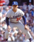 Maury Wills Los Angeles Dodgers 8X10 Photo
