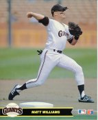 Matt Williams San Francisco Giants LIMITED STOCK Glossy Card Stock 8X10 Photo
