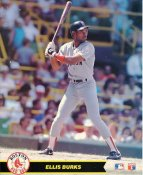 Ellis Burks Boston Red Sox LIMITED STOCK Glossy Card Stock 8X10 Photo
