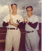 Joe DiMaggio & Johnny Pensky ? LIMITED STOCK New York Yankees 8x10 Photo