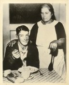 Joe DiMaggio & Mama LIMITED STOCK New York Yankees 8x10 Photo