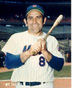 Yogi Berra LIMITED STOCK New York Mets 8X10 Photo
