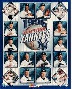 Cecil Fielder, Dwight Gooden, Darryl Strawberry, Derek Jeter, David Cone, Wade Boggs, Mariano Rivera LIMITED STOCK 1996 New York Yankees 8X10 Photo