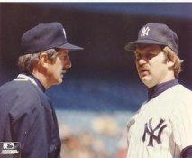 Billy Martin & Thurman Munson LIMITED STOCK New York Yankees 8x10 Photo