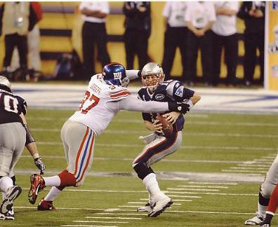 Linval Joseph LIMITED STOCK Super Bowl 46 New York Giants 8X10 Photo