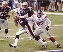 Linval Joseph LIMITED STOCK Super Bowl 46 New York Giants 8X10 Photo