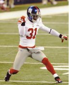 Will Hill LIMITED STOCK Super Bowl 46 New York Giants 8X10 Photo