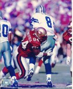 Dana Stubblefield LIMITED STOCK San Francisco 49ers 8X10 Photo