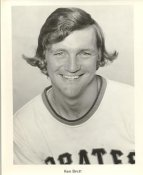 Ken Brett ORIGINAL TEAM ISSUED PHOTO Slightly Curled Comes in a Top Load Pittsburgh Pirates 8X10 Photo