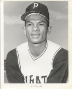 Matty Alou ORIGINAL TEAM ISSUED PHOTO Slightly Curled Comes in a Top Load Pittsburgh Pirates 8X10 Photo