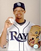 Calvin Medlock LIMITED STOCK Tampa Bay Rays 8X10 Photo