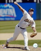 Rich Harden LIMITED STOCK Oakland Athletics 8X10 Photo